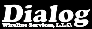 Dialog wireline logo white